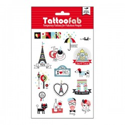 Tattoofab - I love Paris !