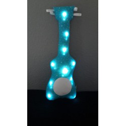 Guitar night light - Blue lagoon