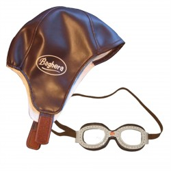 Baghera - Vintage Racing cap and Goggles