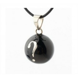 "Babylonia - Pregnancy jewels – Black Bola - "" ? """