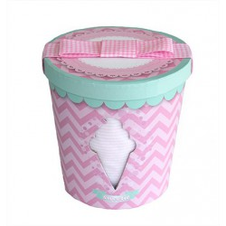 Minene - Newborn Gift Box - Ice cream jars - Pink