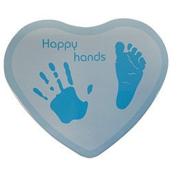 BB & Co - Happy Hands (foot ans hand print kit) - Blue