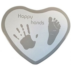 BB & Co - Happy Hands (foot ans hand print kit) - Silver