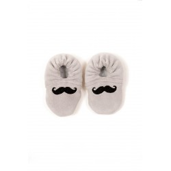 BB & Co - Chaussons Bébé - Moustache