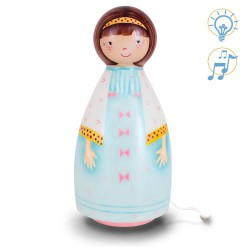 L'Oiseau Bateau - Night Light and musical Box - Gamine Turquoise