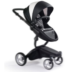 Mima - Stroller Xari - Hammoc and Starter Pack - Black and White