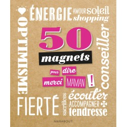 Edition Marabout - 50 Magnets - Merci Maman