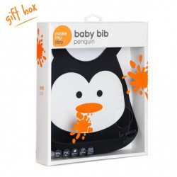 Make My Day - Bib - Penguin