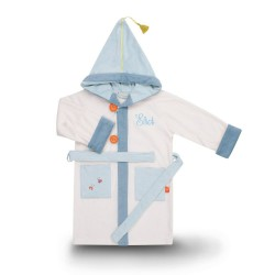 Bathrobe to be embroidered - Ecru - Boy - 4 to 6 Years