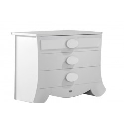 Commode - Micuna - Collection Alexa - Blanc