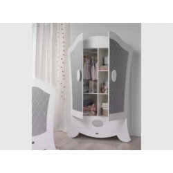 2 Door Wardrobe - Micuna - Alexa Collection