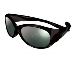 Sun Glasses for Child - Visioptica - Black - 4 to 8 years