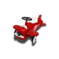 Porteur Speedster Avion - Baghera - Rouge